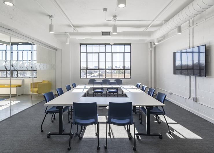 thiết kế phòng họp hiện đại đẹp