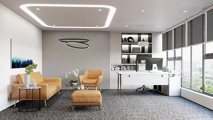 tiêu chuẩn thiết kế diện tích phòng giám đốc