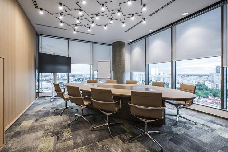 tiêu chuẩn thiết kế nội thất phòng họp