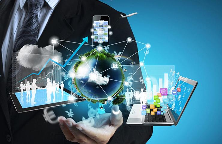 văn phòng tương lai ứng dụng công nghệ hiện đại