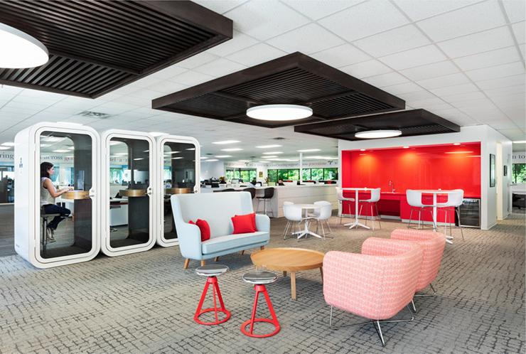 xu hướng văn phòng tương lai dùng nội thất hiện đại