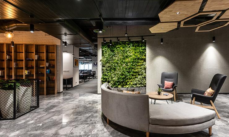 ý tưởng thiết kế mảng tường xanh