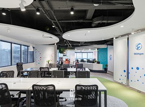 ý tưởng thiết kế văn phòng công ty đẹp hiện đại