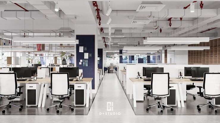 cải tạo trần nhà văn phòng