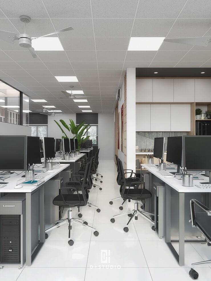 công ty cải tạo văn phòng uy tín d+ studio
