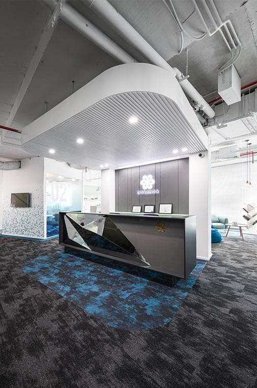 thiết kế nội thất văn phòng công ty cinnamon