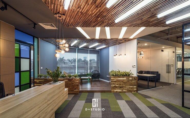mẫu thiết kế văn phòng công ty f88 gplay
