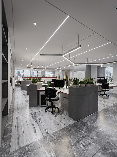 mẫu thiết kế văn phòng làm việc hiện đại đẹp
