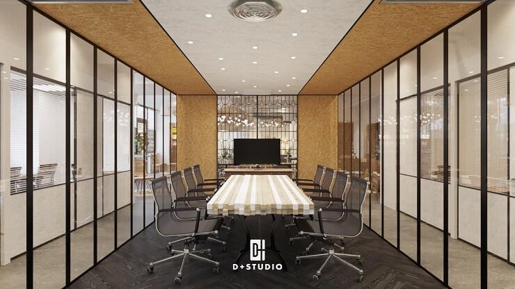 mẫu thiết kế văn phòng làm việc hiện đại của toong royal square