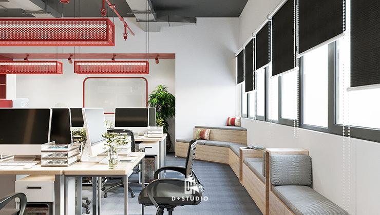 nguyên lý thiết kế chiếu sáng văn phòng
