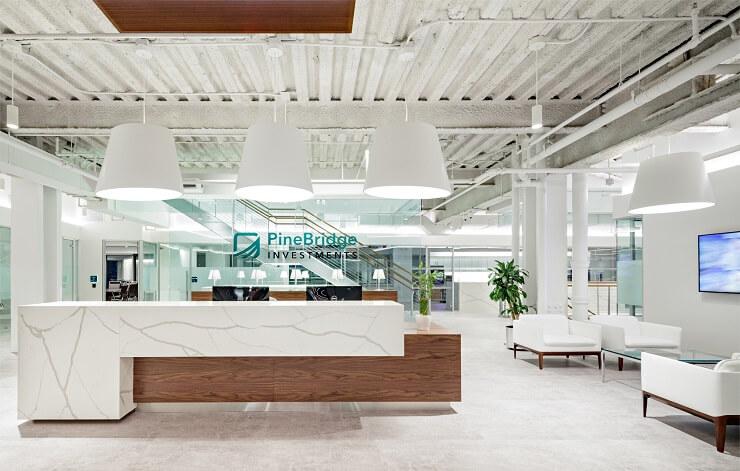 thiết kế không gian văn phòng cao cấp
