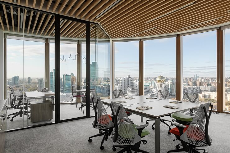 thiết kế không gian văn phòng nhỏ