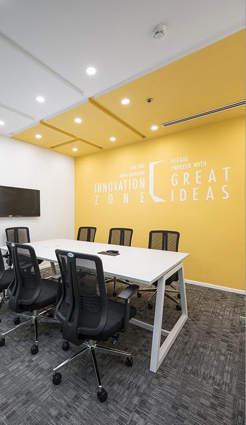 thiết kế thi công tổng thể dự án văn phòng