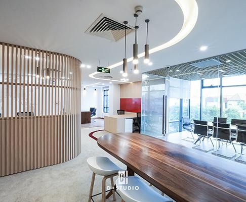thiết kế văn phòng mở đẹp