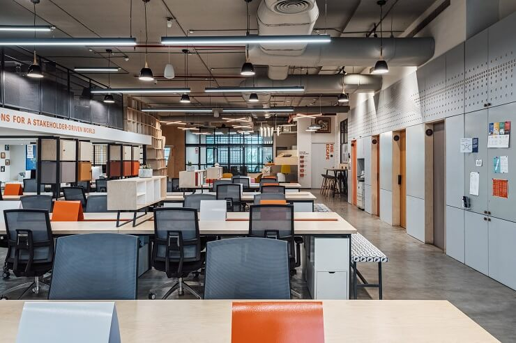 thiết kế văn phòng mở là gì