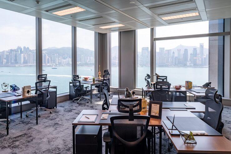 bố trí nội thất văn phòng làm việc hiện đại