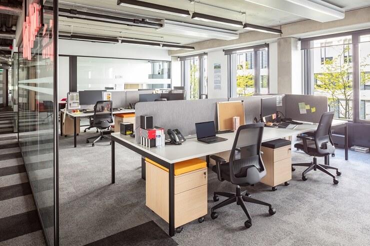 bố trí nội thất văn phòng làm việc tối ưu