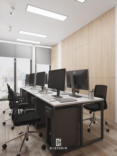 các hình thức bố trí văn phòng phổ biến