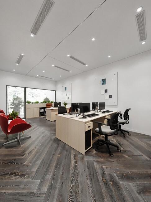 cách bố trí văn phòng làm việc tại cơ quan đẹp hiện đại