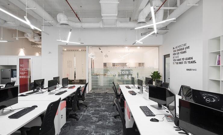 dự án thiết kế văn phòng 150m2 d+ studio