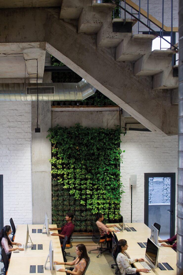 mẫu bố trí nội thất văn phòng đẹp hiện đại