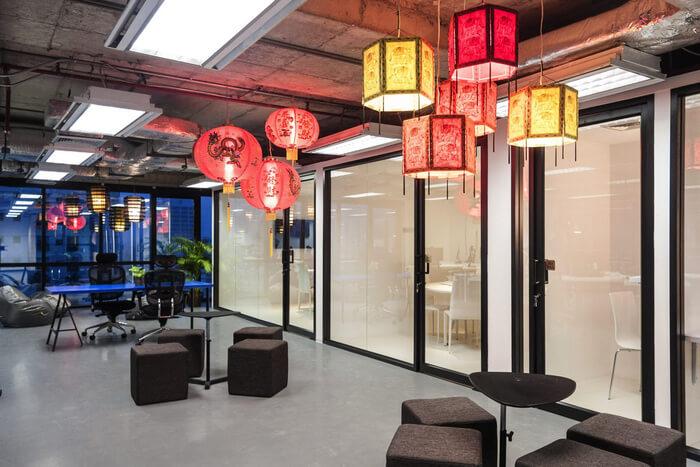 thiết kế nội thất văn phòng á đông