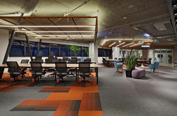 thiết kế nội thất văn phòng đẹp sáng tạo