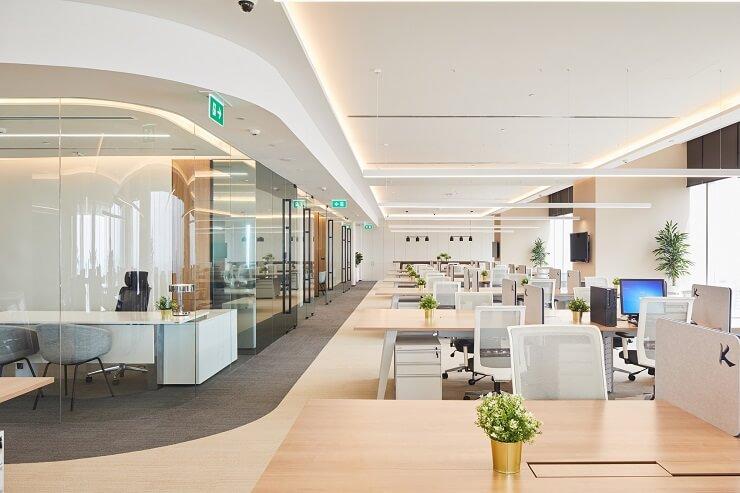thiết kế nội thất văn phòng đẹp nhất