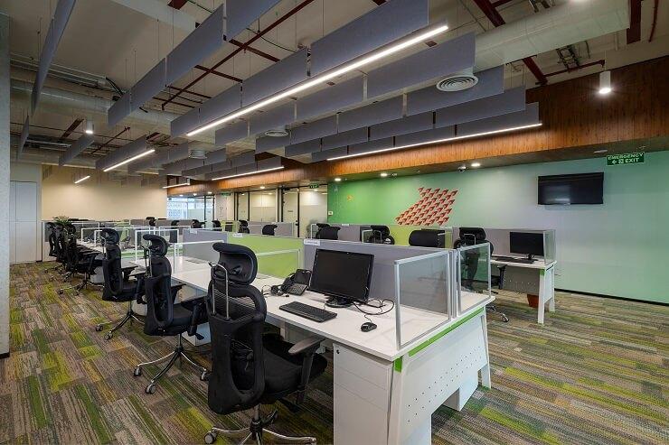 thiết kế thảm sàn văn phòng đẹp sáng tạo