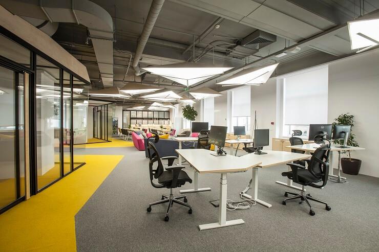 thiết kế thảm trải sàn văn phòng
