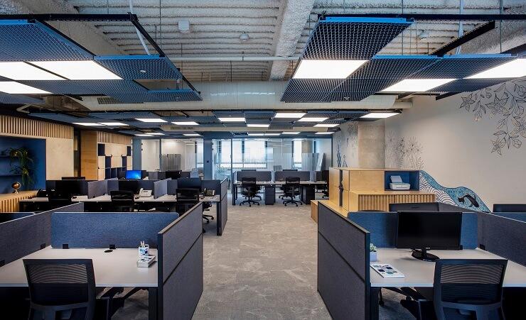 thiết kế hệ trần văn phòng đẹp nhất