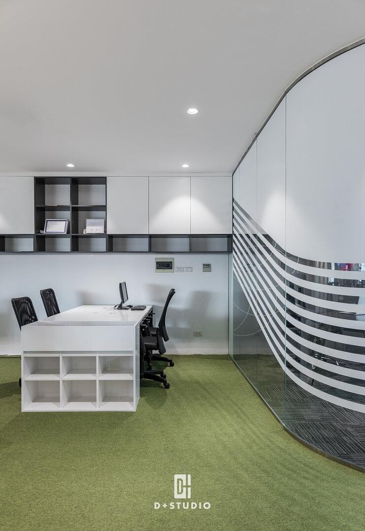 thiết kế văn phòng làm việc diện tích nhỏ