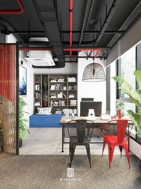 tư vấn thiết kế phòng làm việc công sở hiện đại tiện nghi