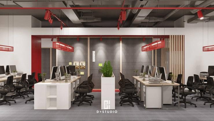 văn phòng xanh biophilic office