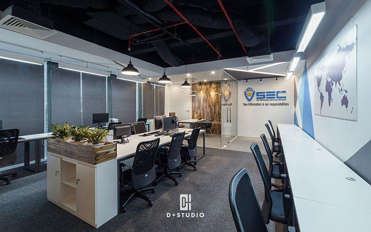 Hệ thống ghế chân xoay thường xuyên được sử dụng trong văn phòng của nhiều doanh nghiệp