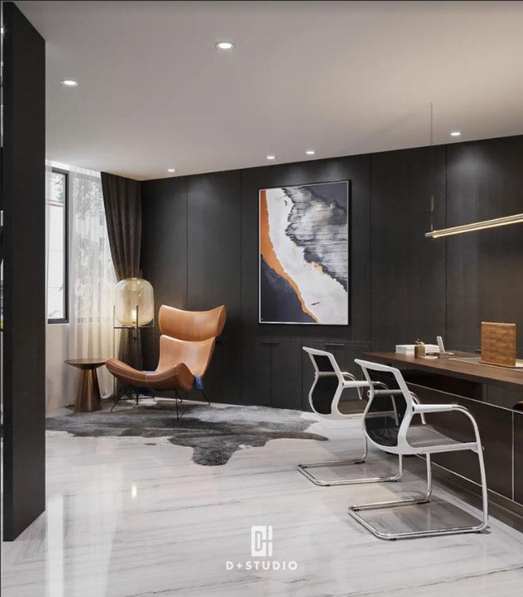 Sử dụng tranh phong thủy, với màu sắc và nội dung hướng đến sự thịnh vượng để decor văn phòng