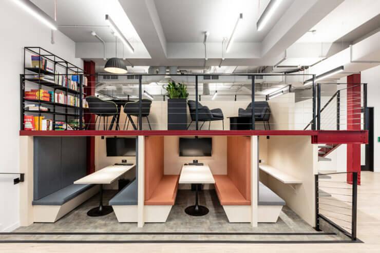 Một công ty sáng tạo cũng sẽ cần đến một văn phòng sáng tạo
