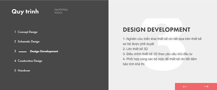 Bước 3: Design Development