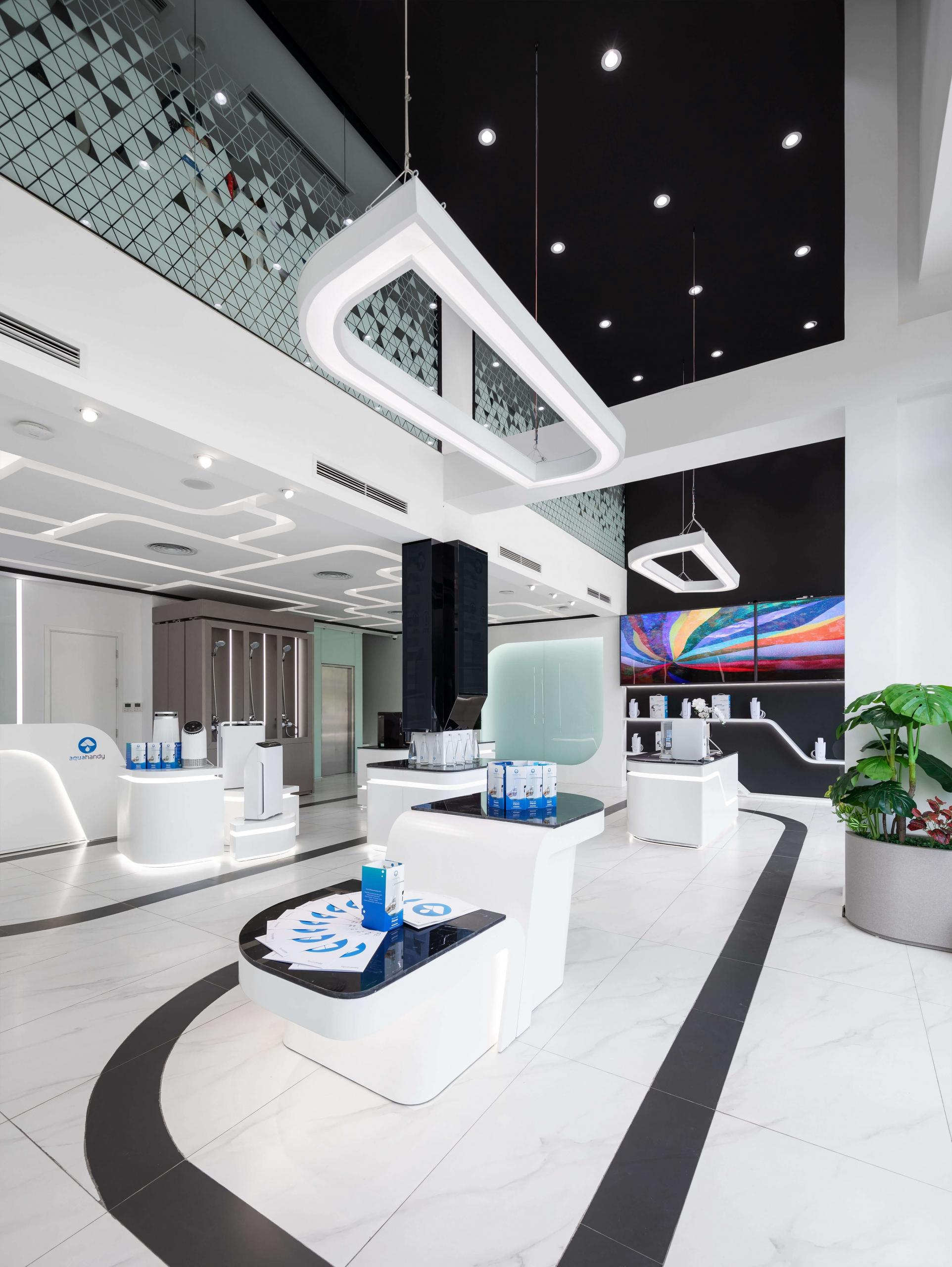 Thiết kế showroom AquaHandy của công ty Tam Phước tại Hà Nội