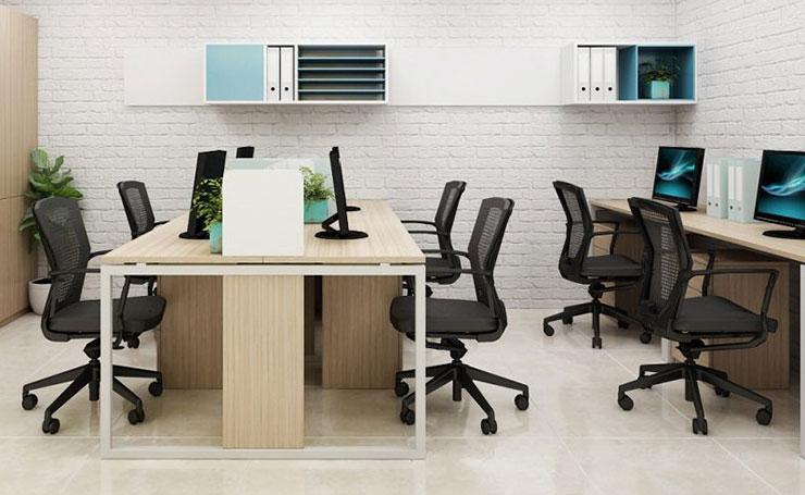 Bố trí không gian phù hợp sẽ tiết kiệm được diện tích trong một văn phòng nhỏ