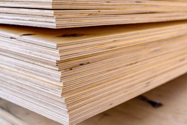 Cốt gỗ công nghiệp Plywood loại được ép và dán keo rất nhiều các tấm gỗ mỏng bằng keo chuyên dụng