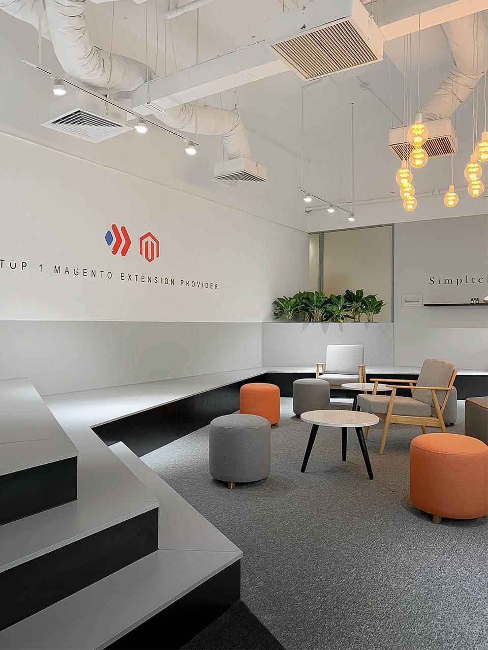 Thiết kế văn phòng công nghệ Magezon với phong cách công viên chức năng thu nhỏ