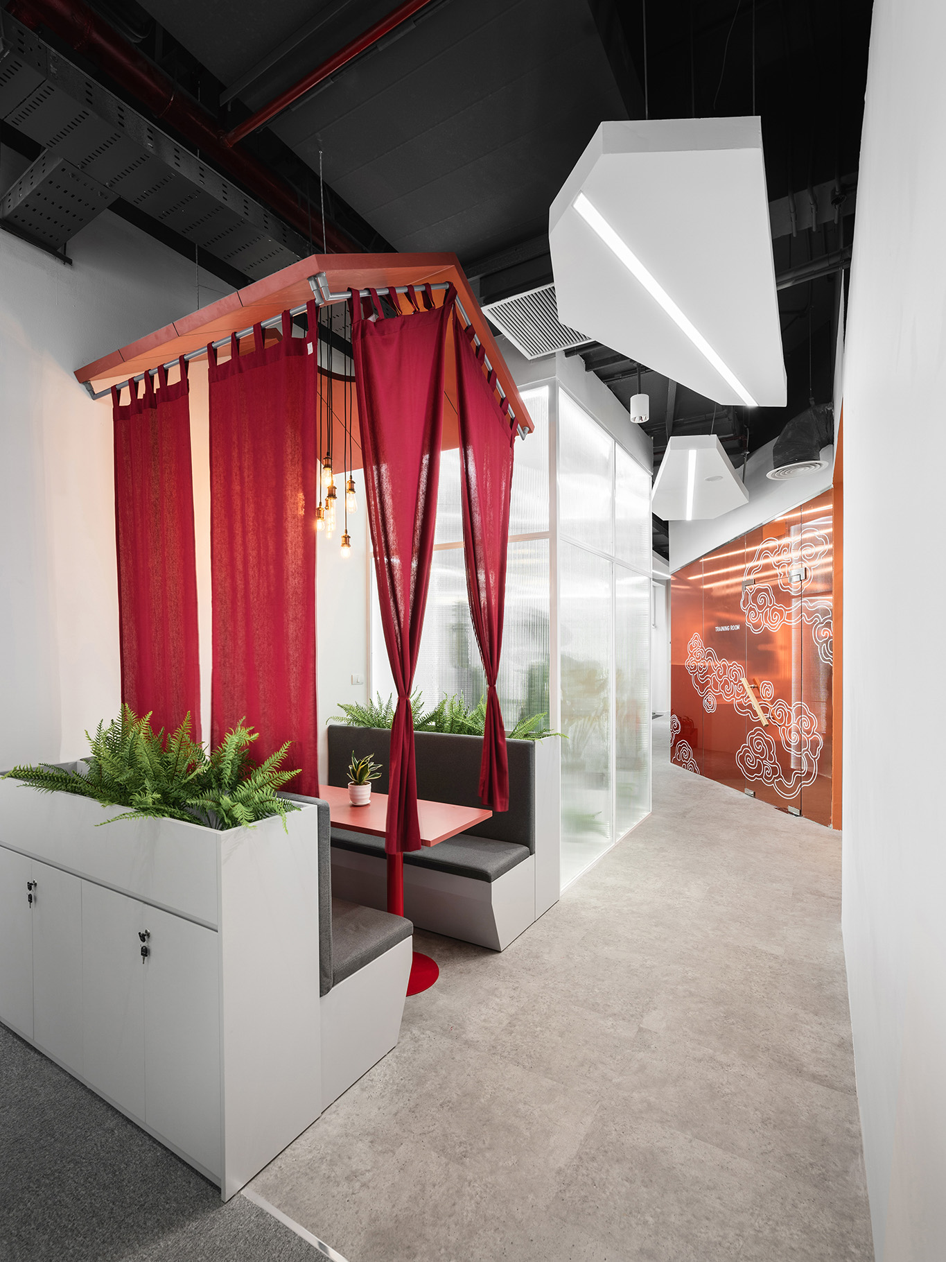 Meeting booth dự án HighCommerce