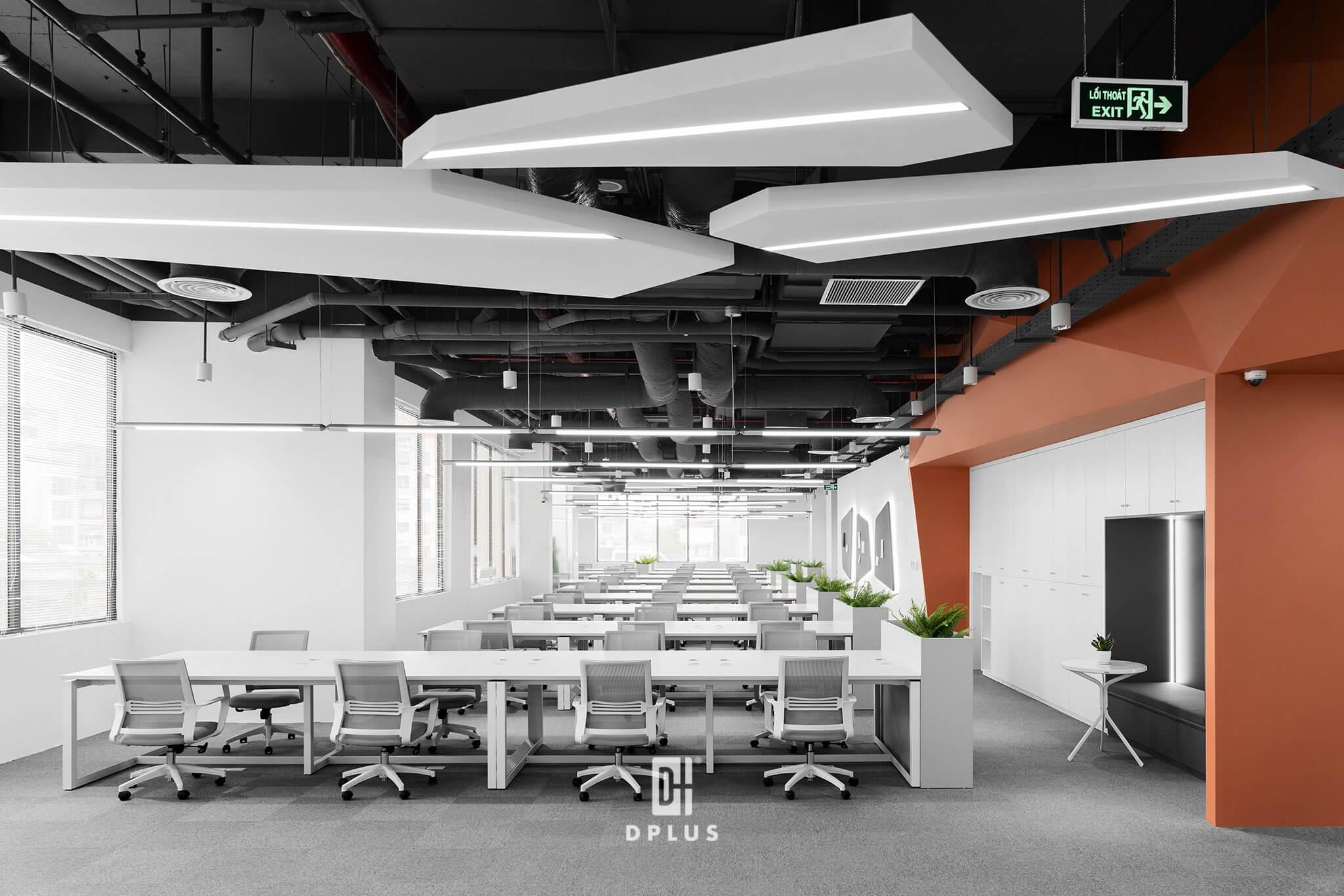 Diện tích văn phòng ảnh hưởng đến báo giá thiết kế