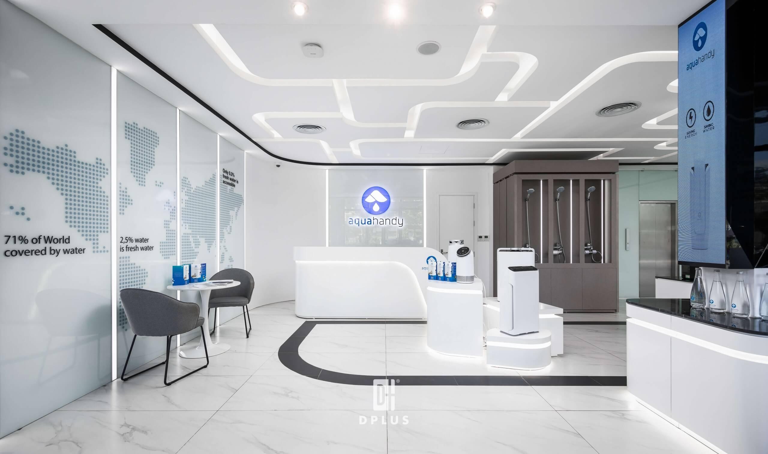 Thiết kế showroom theo nhận diện thương hiệu và văn hoá doanh nghiệp