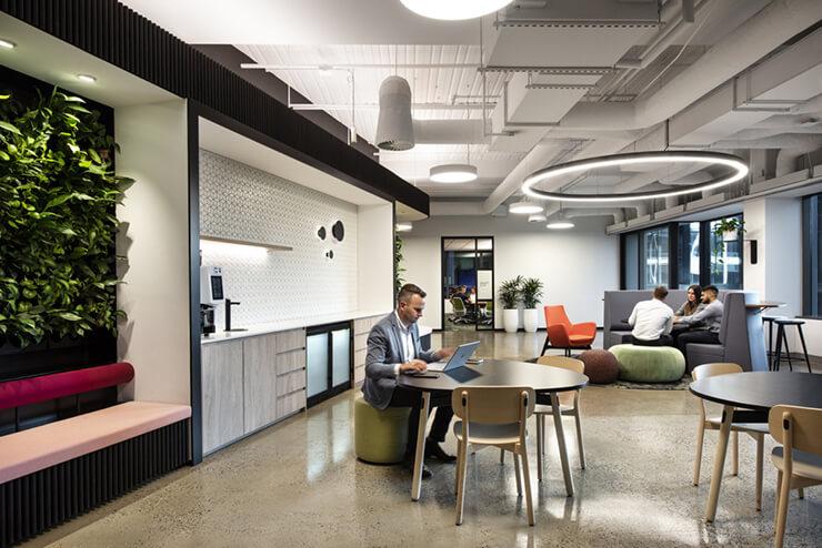 Văn phòng dành cho văn hoá linh hoạt