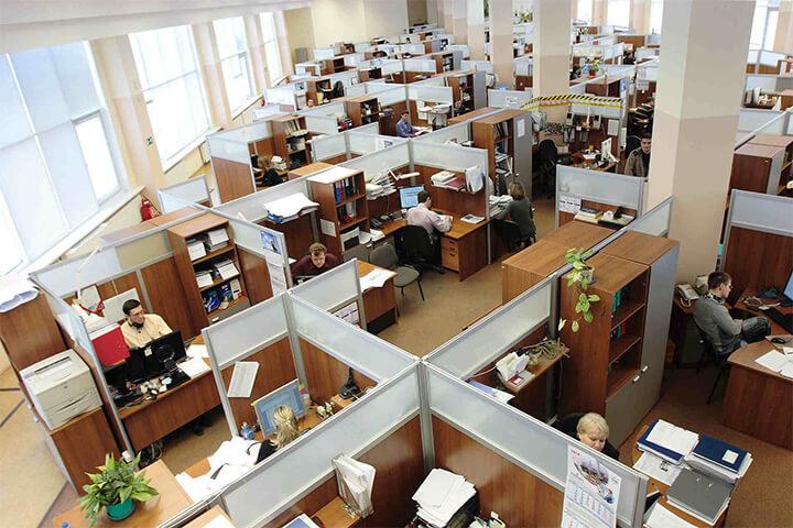 Mô hình văn phòng truyền thống