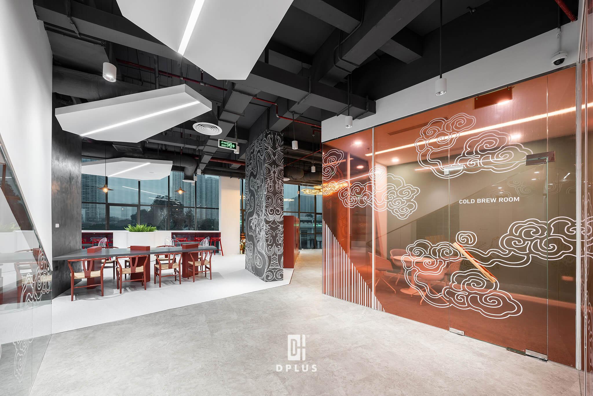 """Văn phòng được thiết kế lấy cảm hứng văn hoá """"transparency"""""""
