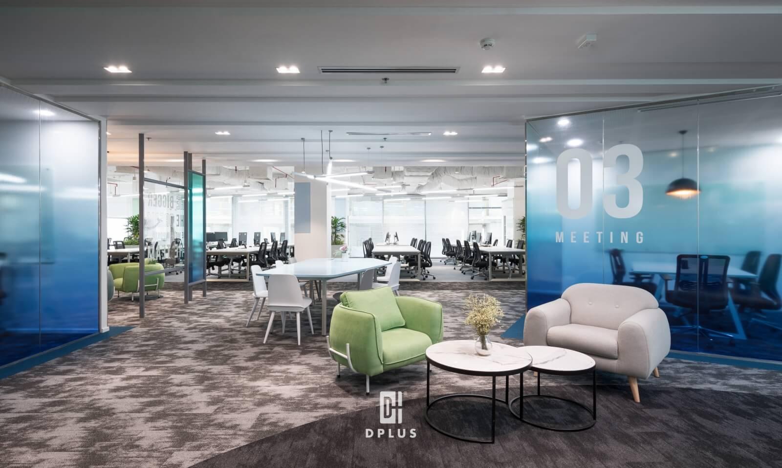 Báo giá thiết kế nội thất văn phòng theo diện tích