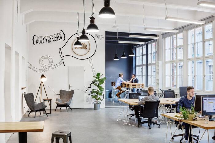 Tối ưu không gian tại văn phòng Agile